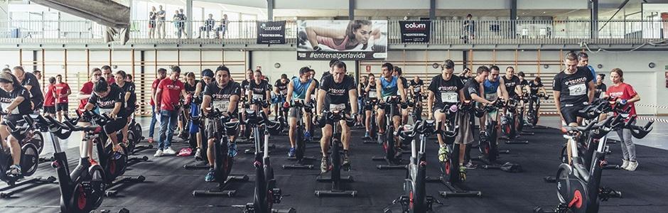 Triatló indoor solidària 2018