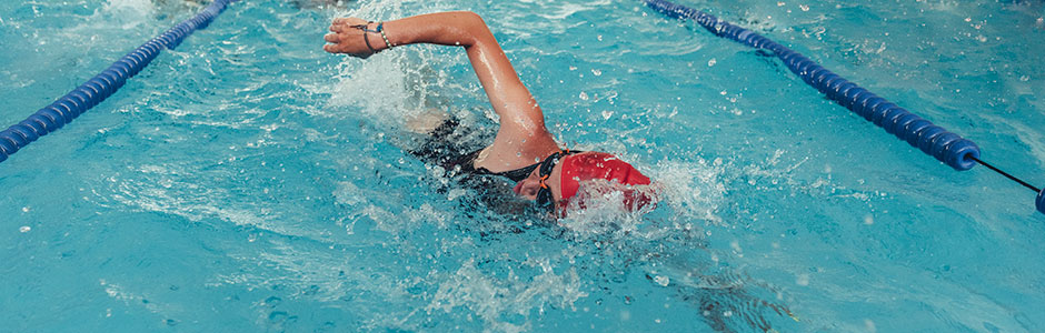 Swimming short courses header