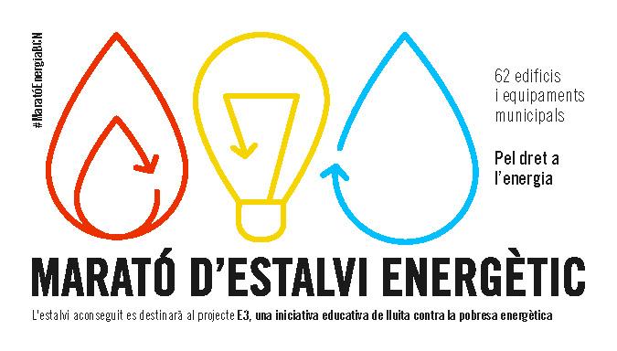 cartell marató estalvi energètic