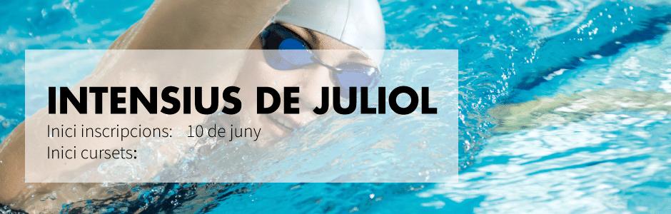 Cursos intensivos de natación header